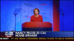 "Courtesy of Fox News.  Nancy Pelosi ""We have to pass it to know what's in it"""